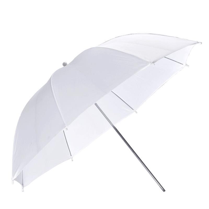 paraguas traslucido blanco
