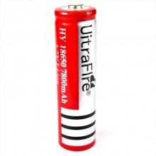 Pila 18650 Ultraflre Recargable Li-ion 3.7 Volts C Teton