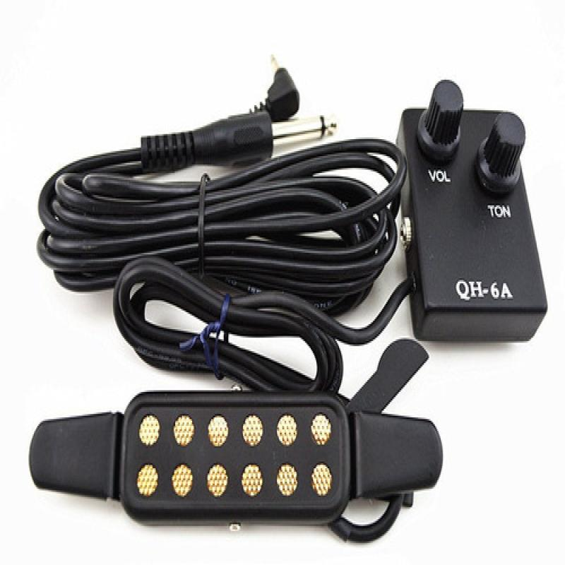 Microfono Para Guitarra Guitar Pickup Qh-6a