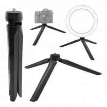 Mini Tripode De Mesa Plegable Para Foto Celular Iluminacion