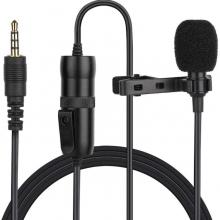 Microfono Corbatero Profesional Cable 6 Mts Pc Celular