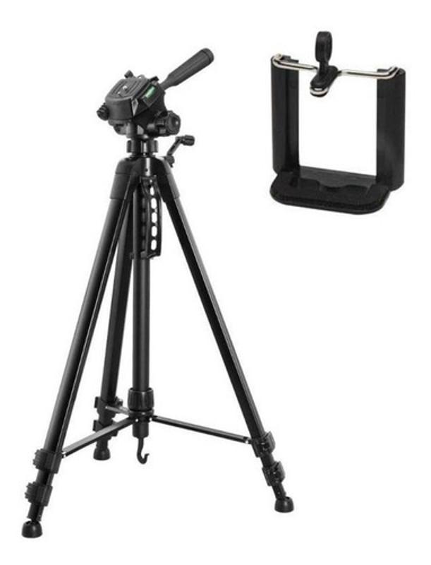 Tripode Weifeng 3560 1.70m Fotografia + Adaptador Celular
