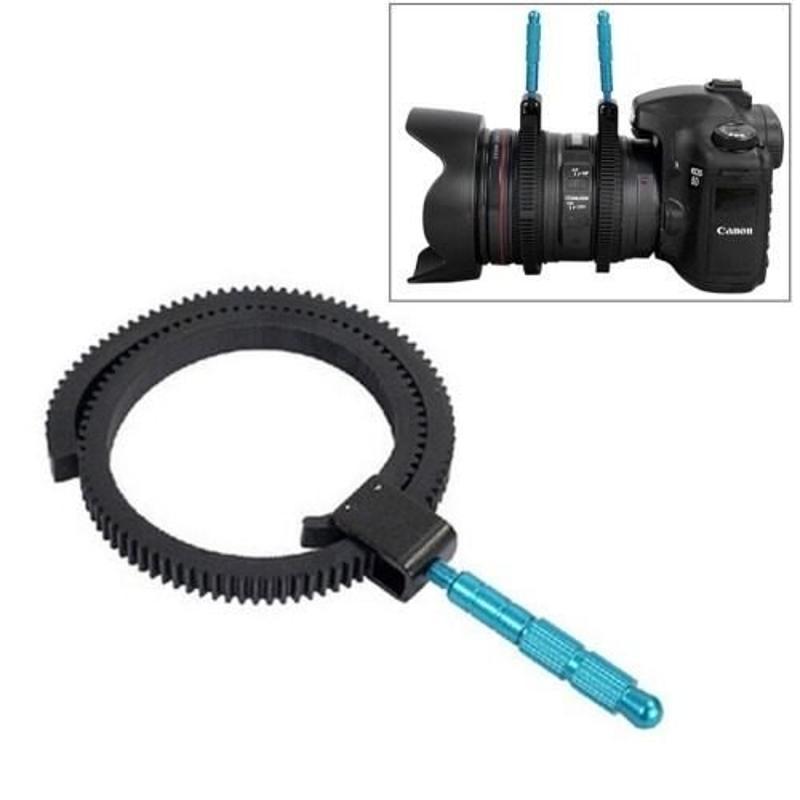 Follow Focus Ajustable P Camara Reflex Dslr Canon Nikon Sony