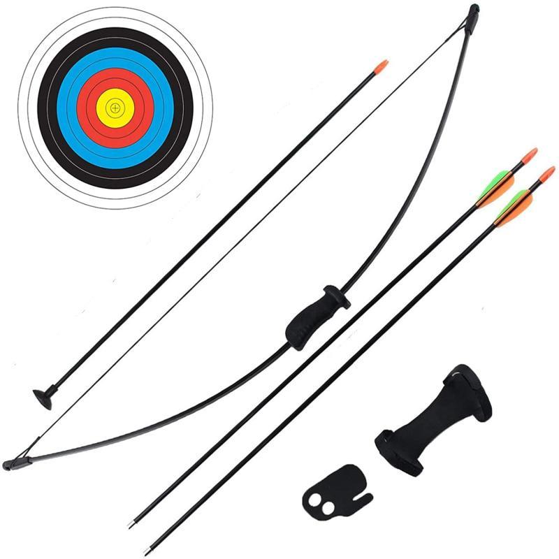 Arco Recurvo Nika 16 Lbs con flechas y blanco
