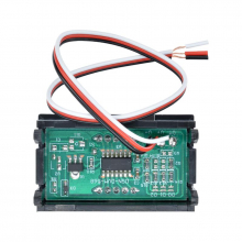 Voltimetro Digital Auto Moto Hogar 0 A 99v Display Led Color